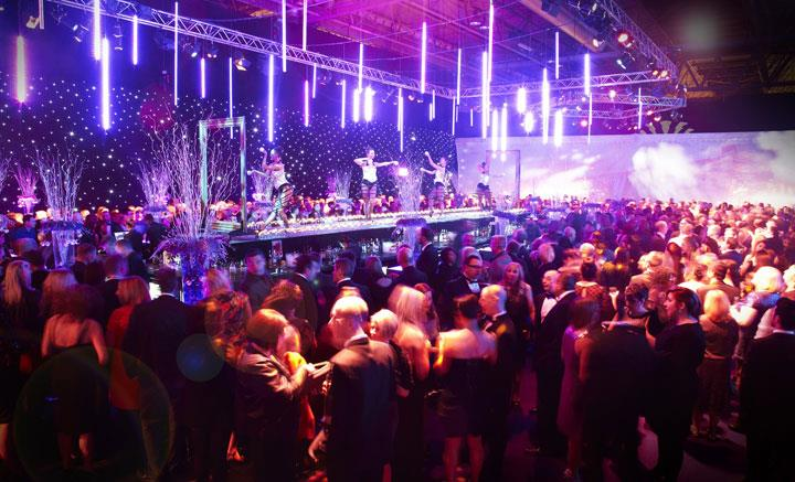 Acc Liverpool Unveils Christmas Party World 2017