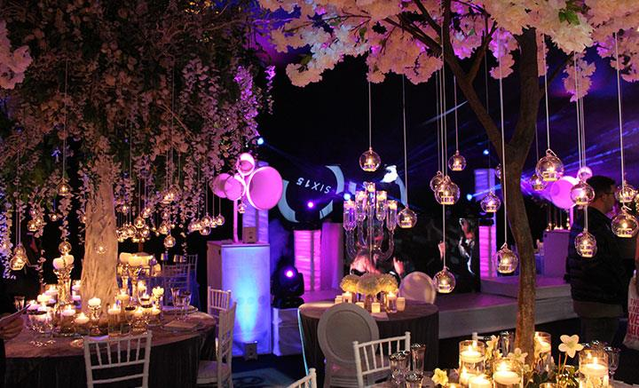 Wedding Show Tables