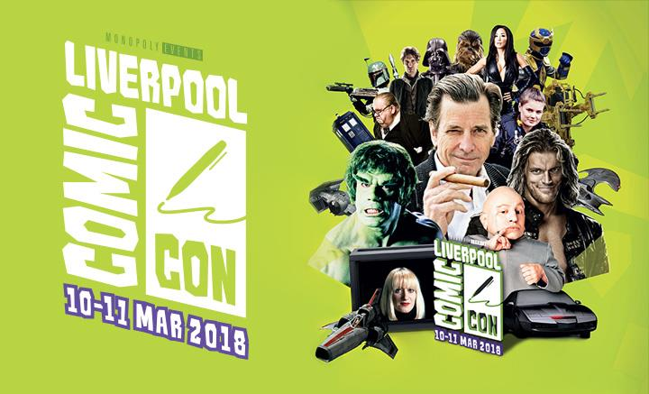 Liverpool Comic Con Main